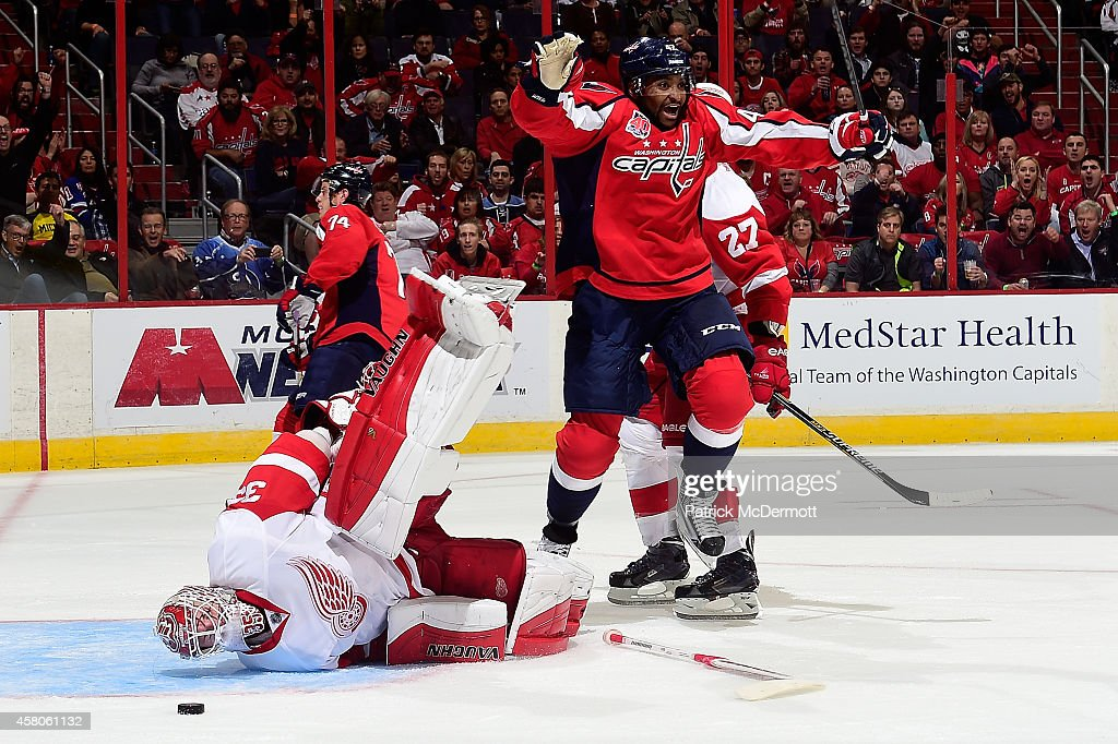 Detroit Red Wings v Washington Capitals