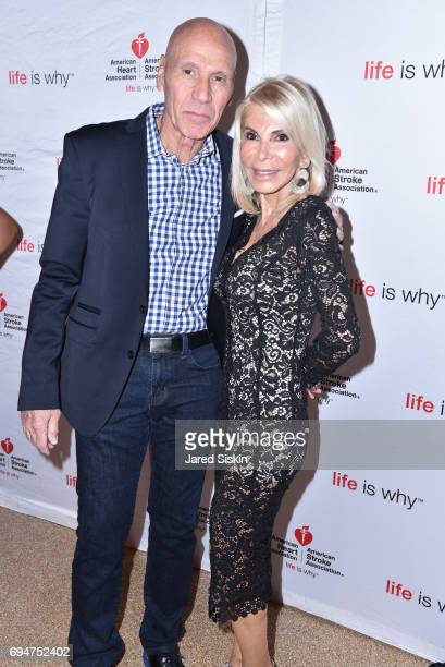 Joel Wernick and Andrea Warshaw Wernick attend the 21st Annual Hamptons Heart Ball at Southampton Arts Center on June 10 2017 in Southampton New York
