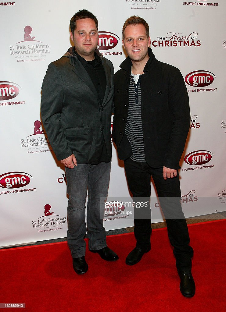 Matthew West The Heart Of Christmas.Joel West And Matthew West Arrive At The Gmc World Premiere