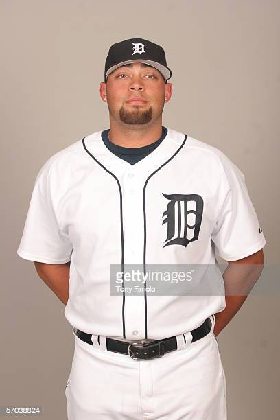 Joel Zumaya of the Detroit Tigers during photo day at Marchant Stadium on February 26 2006 in Lakeland Florida