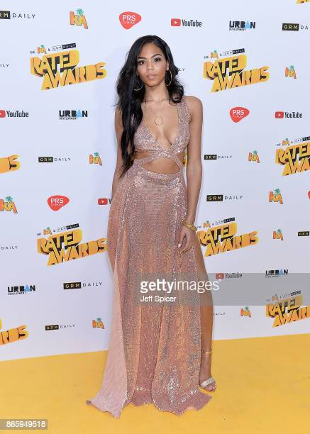 Joelah Noble attends The Rated Awards at The Roundhouse on October 24 2017 in London England