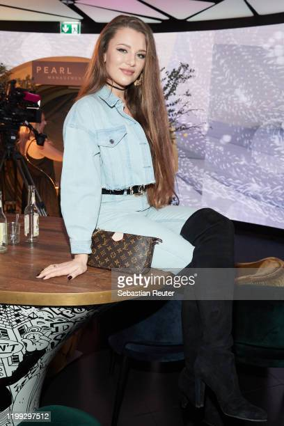 Joelina Drews attends the PEARL Model Management Fashion Aperitif at The Reed on January 13 2020 in Berlin Germany