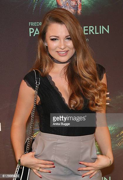 Joelina Drews attends the 'THE ONE Grand Show' premiere at FriedrichstadtPalast on October 6 2016 in Berlin Germany