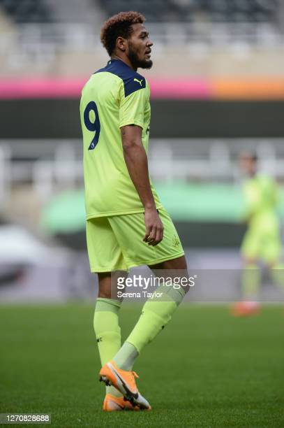 Joelinton of Newcastle United FC during the Pre Season Friendly between Newcastle United and Stoke City at St James' Park on September 05 2020 in...