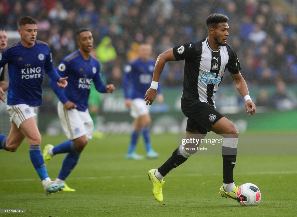 Leicester City v Newcastle United - Premier League : Foto jornalística