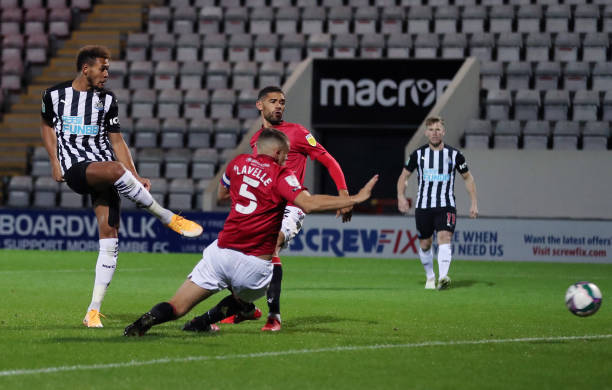 GBR: Morecambe v Newcastle United - Carabao Cup Third Round