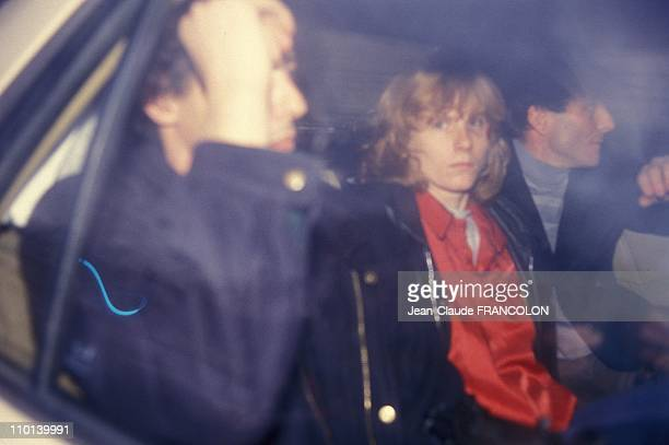 Joelle Aubron Courthouse in Paris France on February 23 1987