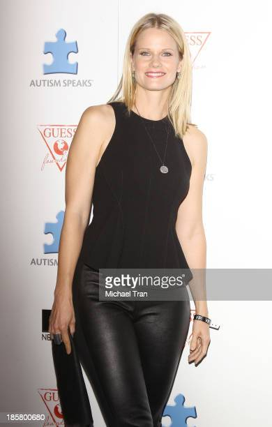 Joelle Carter arrives at the 3rd Annual Blue Jean Ball held at Boulevard3 on October 24 2013 in Hollywood California