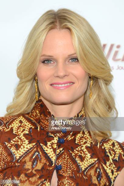 Joelle Carter attends a screening of Integrity Film Production's 'Red Wing' at Harmony Gold Theatre on August 6 2013 in Los Angeles California