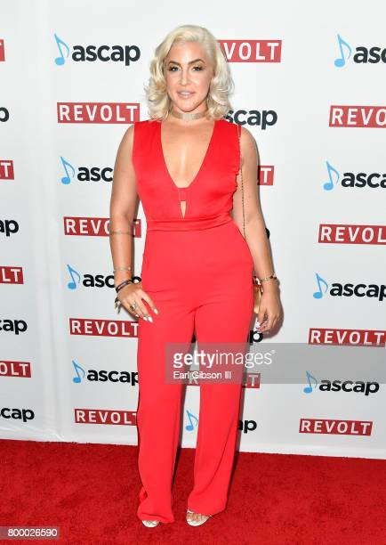 Joelle James at the ASCAP 2017 Rhythm Soul Music Awards at the Beverly Wilshire Four Seasons Hotel on June 22 2017 in Beverly Hills California