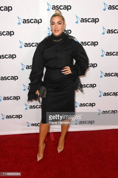 Joelle James attends the 36th annual ASCAP Pop Music Awards at The Beverly Hilton Hotel on May 16 2019 in Beverly Hills California