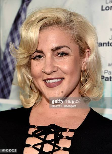 Joelle James attends the premiere of Lionsgate's The Perfect Match at ArcLight Hollywood on March 7 2016 in Hollywood California