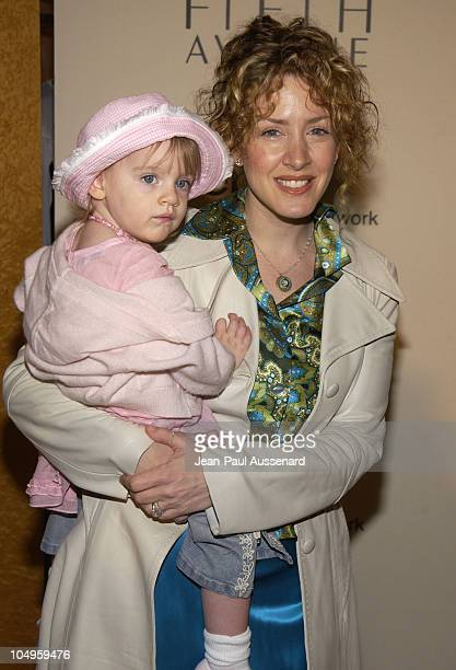 Joely Fisher and daughter Skylar during 2nd Annual Mother and Daughter Brunch to Benefit Step Up Women's Network at Saks Fith Avenue in Beverly...