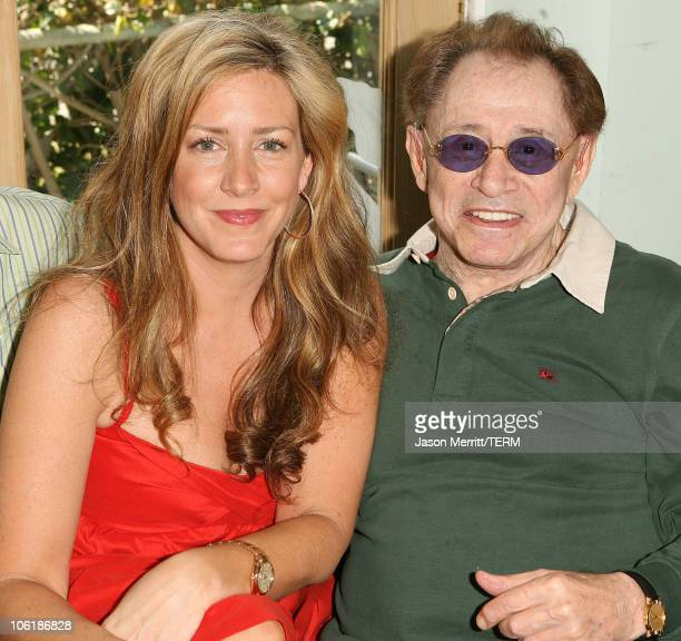 Joely Fisher and father Eddie Fisher during Grand Opening of The Tree House Social Club at Tree House Social Club in Los Angeles California United...