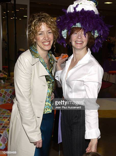 Joely Fisher and Frances Fisher during 2nd Annual Mother and Daughter Brunch to Benefit Step Up Women's Network at Saks Fith Avenue in Beverly Hills,...