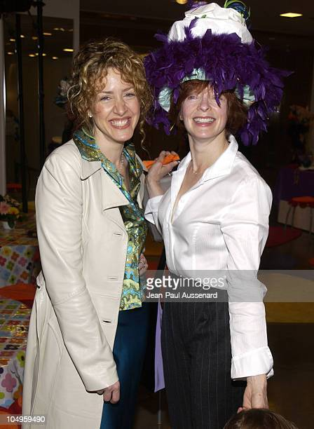 Joely Fisher and Frances Fisher during 2nd Annual Mother and Daughter Brunch to Benefit Step Up Women's Network at Saks Fith Avenue in Beverly Hills...
