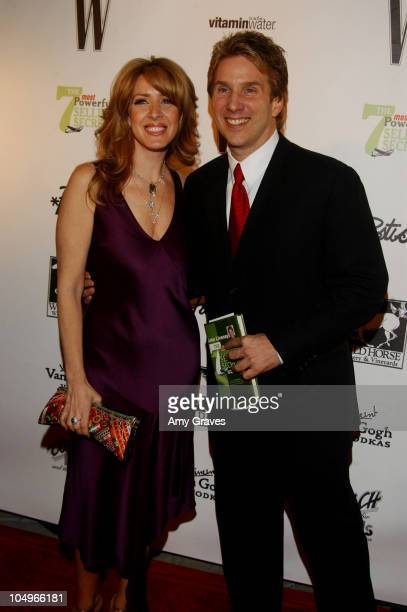 Joely Fisher and John Livesay during W Magazine Publisher Alyce Alston Hosts Book Launch Party for John Livesay at Private Residence in Bel Air...