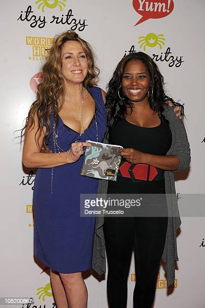 Joely Fisher and Shar Jackson attend World Hunger Relief Fundraiser for UN World Food Program at Eve Nightclub on October 11 2010 in Las Vegas Nevada