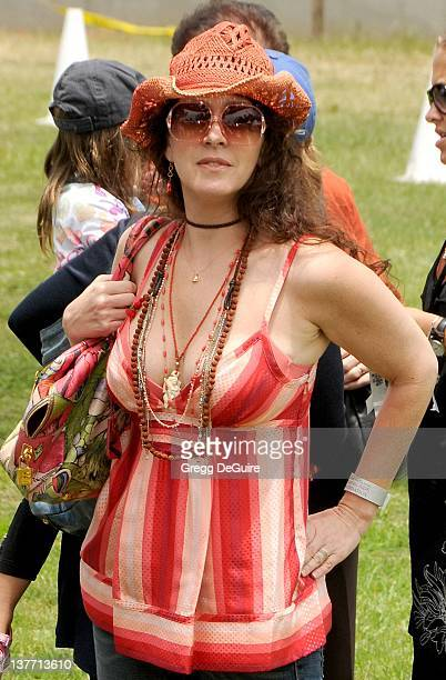 Joely Fisher arrives at the 21st Annual A Time For Heroes Celebrity Picnic sponsored by Disney to benefit The Elizabeth Glaser Pediatric AIDS...