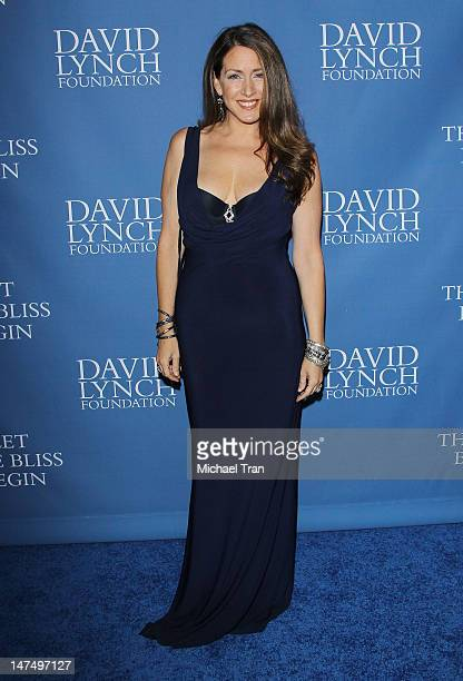Joely Fisher arrives at The David Lynch Foundation hosts a Night of Comedy held at the Beverly Wilshire hotel on June 30 2012 in Beverly Hills...