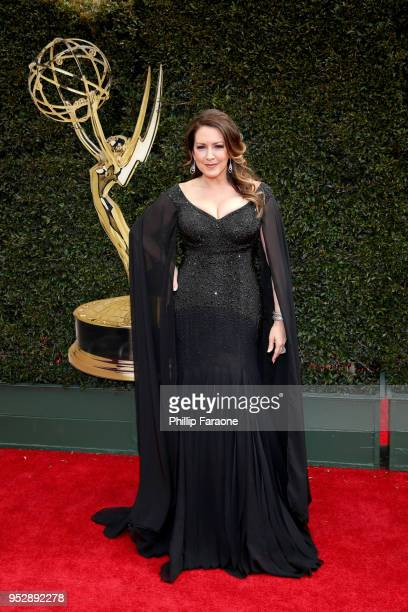 Joely Fisher attends the 45th annual Daytime Emmy Awards at Pasadena Civic Auditorium on April 29 2018 in Pasadena California