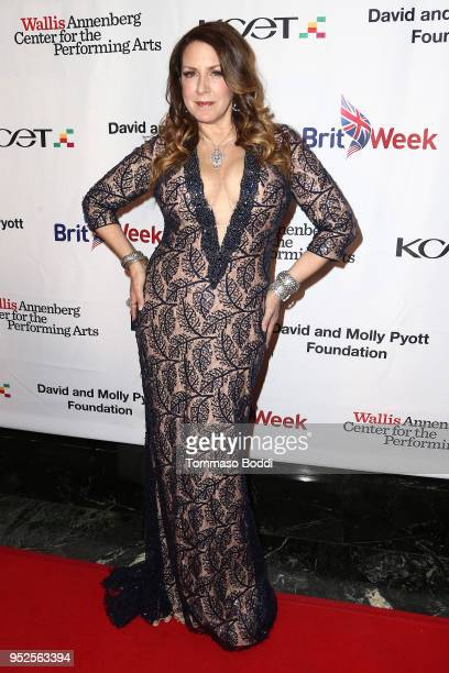 Joely Fisher attends the BritWeek And The Wallis Present A Shakespeare Jubilee at Wallis Annenberg Center for the Performing Arts on April 28 2018 in...