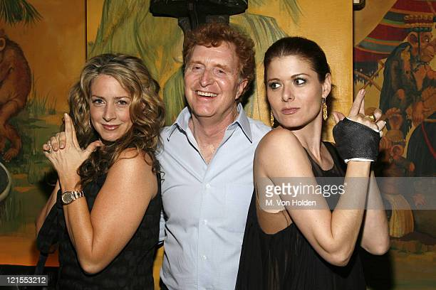 Joely Fisher Bob Gersh of the Gersh Agency and Debra Messing