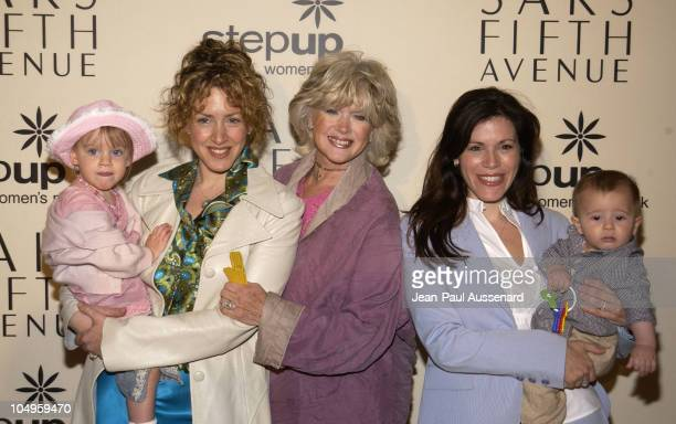 Joely Fisher, daughter Skylar, mom Connie Stevens, Tricia Leigh Fisher and son Holden
