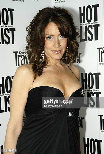 Joely Fisher during 2005 Conde Nast Traveler Hot List Party at Megu in New York City New York United States