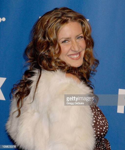 Joely Fisher during 2007 Fox All-Star Winter TCA Party - Arrivals at Villa Sorriso in Pasadena, California, United States.