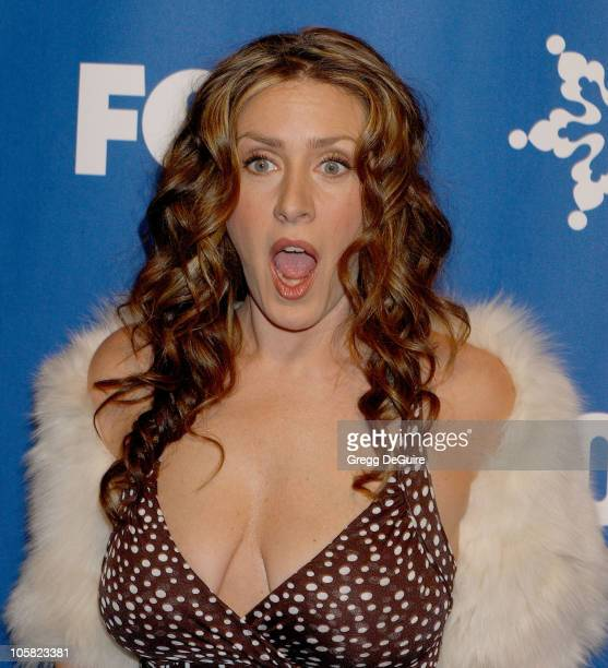 Joely Fisher during 2007 Fox AllStar Winter TCA Party Arrivals at Villa Sorriso in Pasadena California United States