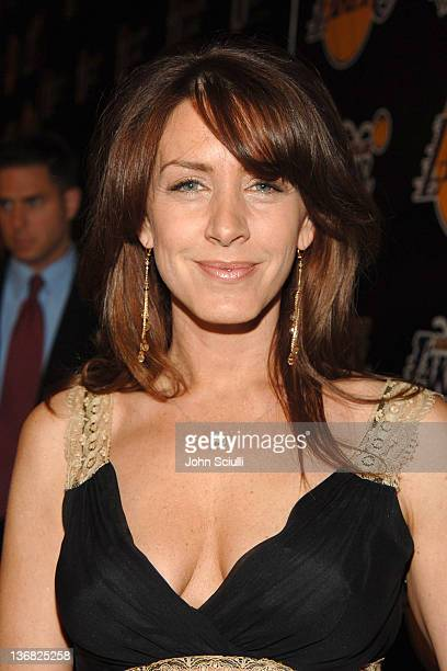Joely Fisher during 2nd Annual Lakers Casino Night Benefiting the Lakers Youth Foundation Red Carpet and Inside at Barker Hanger in Santa Monica...