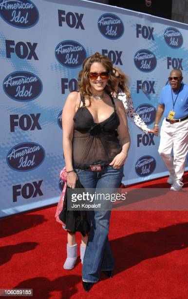 """Joely Fisher during """"American Idol"""" Season 5 - Finale - Arrivals at Kodak Theater in Hollywood, California, United States."""