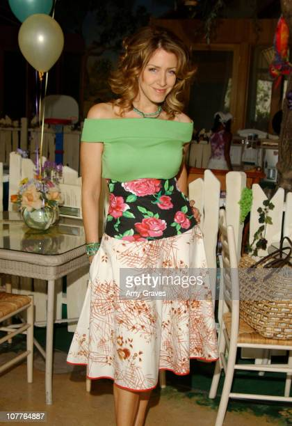 Joely Fisher during Connie Stevens Joely Fisher and Tricia Leigh Fisher Open Nana's Garden at Nana's Garden in Beverly Hills California United States