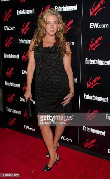 Joely Fisher during Entertainment Weekly 2007 Upfront Party Red Carpet at The Box in New York City New York United States