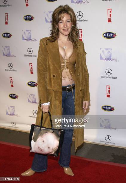 Joely Fisher during Holly Robinson Peete Rodney Peete in Conjunction with E Entertainment TV San Diego's Star 100 Radio Host Fundraiser Arrivals at...