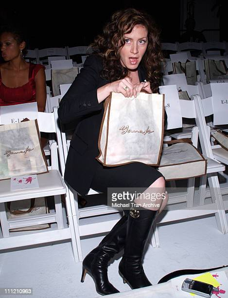 Joely Fisher during MercedesBenz Spring 2007 LA Fashion Week at Smashbox Studios Yana K Backstage and Front Row at Smashbox Studios in Culver City...