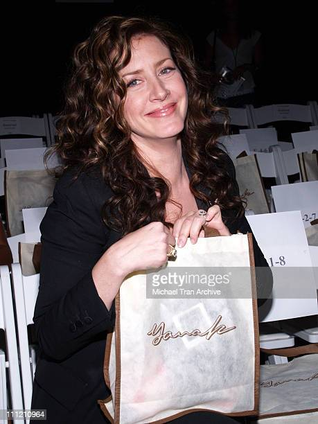 Joely Fisher during Mercedes-Benz Spring 2007 L.A. Fashion Week at Smashbox Studios - Yana K - Backstage and Front Row at Smashbox Studios in Culver...