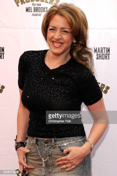"""Joely Fisher during Opening Night of """"The Producers"""" at Pantages Theatre in Hollywood, California, United States."""