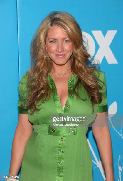Joely Fisher during The 2007/2008 Fox Upfronts - Arrivals at Wollman Rink - Central Park in New York City, New York, United States.