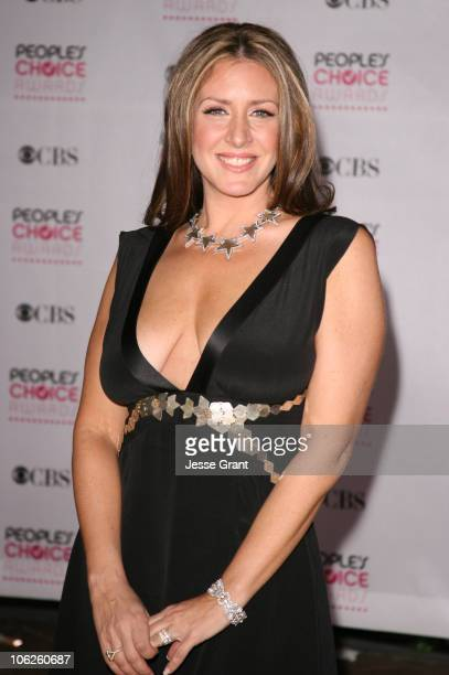 Joely Fisher during The 33rd Annual People's Choice Awards Arrivals at Shrine Auditorium in Los Angeles California United States