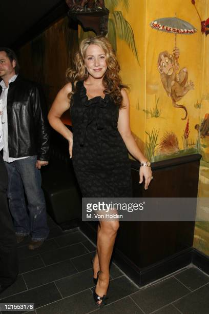 Joely Fisher during The Gersh Agency Celebrates 2007 Television Upfronts at the Redesigned Monkey Bar at Monkey Bar in New York City New York United...