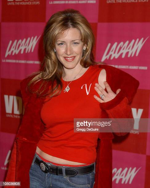 Joely Fisher during V-Day LA 2003 at The Directors Guild Theatre in Los Angeles, California, United States.