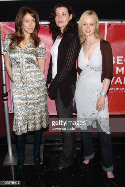 Joely Fisher Julianna Margulies and Thora Birch during 4th Annual Tribeca Film Festival Slingshot Press Conference at Regal Cinemas in New York City...