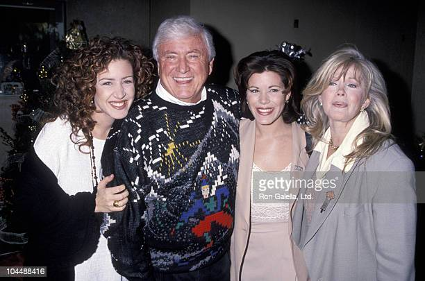 Joely Fisher Merv Griffin Tricia Leigh Fisher and Connie Stevens