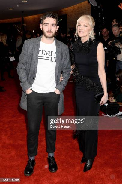 Joely Richardson and Daniel Neeson attend the Rakuten TV EMPIRE Awards 2018 at The Roundhouse on March 18 2018 in London England