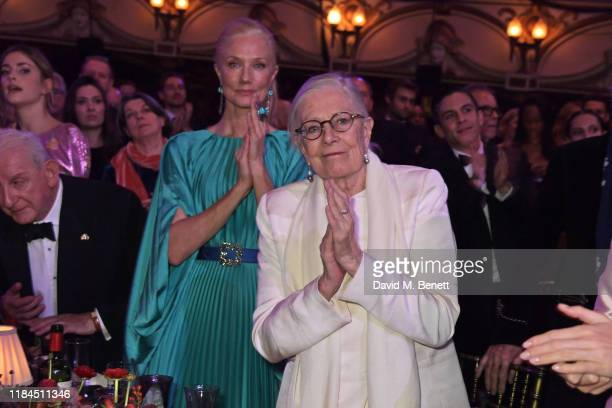 Joely Richardson and Vanessa Redgrave attend the 65th Evening Standard Theatre Awards in association with Michael Kors at the London Coliseum on...