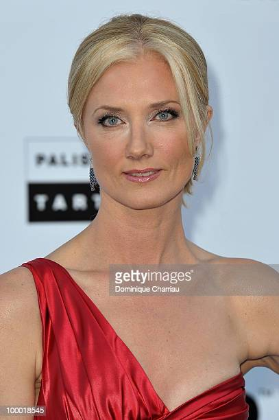 Joely Richardson arrives at amfAR's Cinema Against AIDS 2010 benefit gala at the Hotel du Cap on May 20 2010 in Antibes France