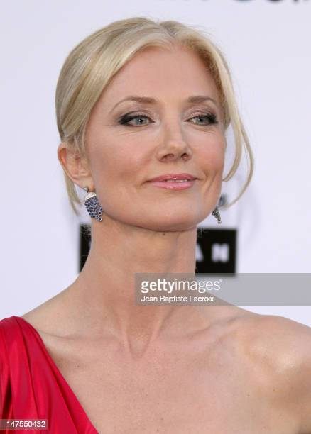Joely Richardson arrives at amfAR's Cinema Against AIDS 2010 benefit gala at the Hotel du Cap on May 20 2010 in Cannes France