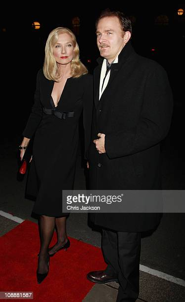 Joely Richardson arrives at the London Evening Standard British Film Awards 2011 at the Marriot Hotel on February 7 2011 in London England